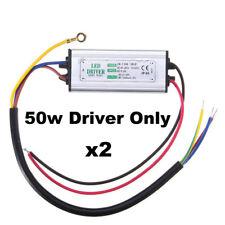 Supply 2Pcs 50W Power 110V~240V Waterproof Led Driver TO Transformer
