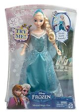 "Disney Frozen Musical Magic ELSA Doll 12"" Y9967 by Mattel"