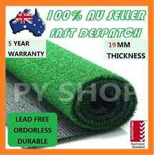 5 SQM Artificial Grass Synthetic Turf Plastic Olive Plant Fake Lawn Flooring 19