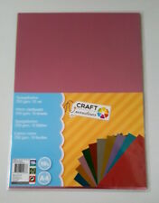 Mirror Card Craft Sensations x10 Colours 250gsm x1 Pack