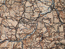 112 KASSEL, 1:200.000, 1944, Übersichtskarte des Deutschen Reiches