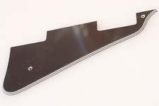 Pickguard Black Gibby Les Paul Studio Standard Custom 4 Capas Golpeador Negro
