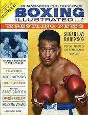 SUGAR RAY ROBINSON Boxing Illustrated/Wrestling News Magazine March 1961