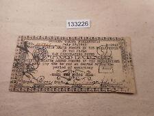Philippines Emergency Currency Guiuan Samar USAFP 2 Pesos License Rev # 133226