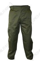 Pantalones de hombre verde de poliéster