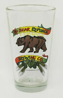 Bear Republic Brewing Co  Sonoma Ales Cloverdale California Beer Pint Glass
