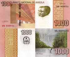 ANGOLA 1000 Kwanzas 2012 - Kalandula Falls, P156