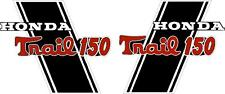 "CT70H Trail CT70HKO 150cc frame decals, graphics, Stickers.    CUSTOM ""TRAIL150"""