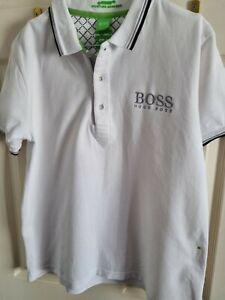 Mens Hugo Boss Polo Shirt Large
