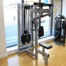 Gym80 Sygnum Selectorised Upper Back Strength Machine - Commercial Gym Equipment