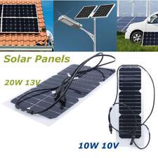 12V 10W Semiflexible Solar Panel Monozelle Modul DIY Kit 12V Ladegerät Batterie