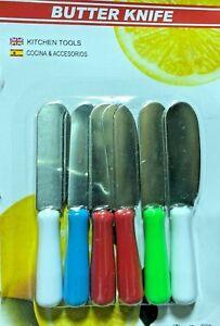 Stainless Steel Mini Butter Knife Fork Kitchen Dining Bread Jam Butter Knife UK