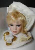 Show Stoppers Timeless Images Porcelain Collectible Victoirian Doll Head Bust