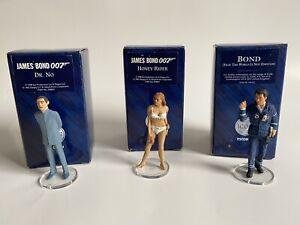 Corgi Icon J Bond 007 Bundle: 3x Figures: Dr No, Honey Rider, 007.