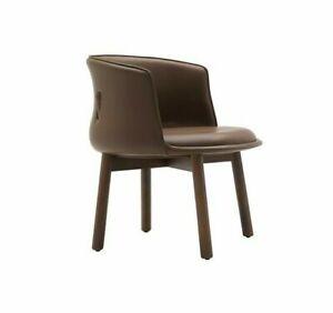 Peg Armchair by Cappellini Nendo Oki Sato (Brown Leather) BB Italia Cassina