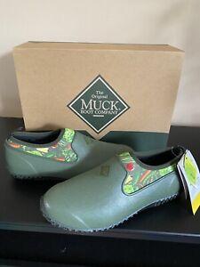 NEW Muck Boots Women's Muckster II Low Veggie Print Size 10