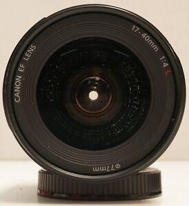Canon EF 17-40mm f/4L USM Lens [Faulty - Salt Water Damage]