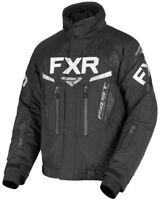 FXR Black Mens Team FX Insulated Snowmobile Jacket Snow 2019