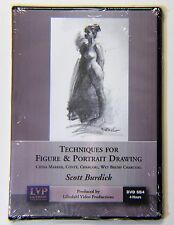Scott Burdick:Techniques for Figure & Portrait Drawing - Art Instruction DVD