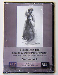 Scott Burdick:Techniques for Figure & Portrait Drawing - Art Instruction DVD