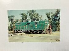 Vintage Postcard Chicago & Illinois Midland Railway's Number 51 Railroad Train