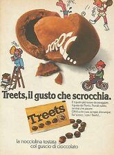 X7811 Treets il gusto che scrocchia - Pubblicità 1976 - Vintage Advertising