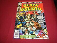 WA1 Black Goliath #5 marvel 1976 bronze age 6.5/fn+ comic!