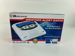 New Midland Weather Alert Radio WR120B Open Box
