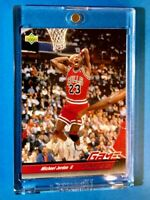 Michael Jordan RARE UPPER DECK GAME FACES SLAM 1992-93 CHICAGO BULLS CARD - Mint