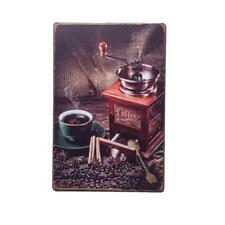 COFFEE Metal Tin Sign Poster Cafe Bar Pub Wall Decorative Vintage Plaque 20