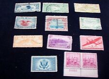 Estate Sale Find-Lot of used U.S. stamps-1930-40's (S14)