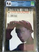 ULTIMATE FALLOUT #4 (Second Printing Pichelli Variant) CGC 9.6 1st Miles Morales