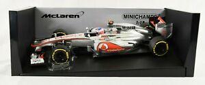 Minichamps F1 MINT 1:18 Button Mclaren Mercedes MP4-27 2012