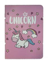 iPad Pro 9.7'' - iPad 9.7 - iPad Air 1-2 Unicorn Cartoon Pony Kids Case Cover +