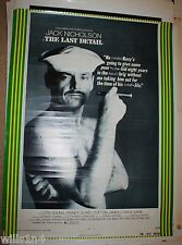 The Last Detail Jack Nicholson 1973 Vintage Movie Poster 1 Sheet