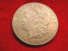 1896-S MORGAN DOLLAR OUTSTANDING TONED RARE DATE COIN!!!  #300