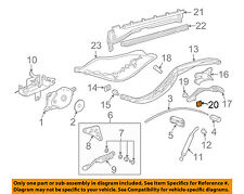PORSCHE OEM Boxster Motor-Convertible/soft Top-Hinge Plate Lock Nut 99916607509