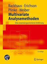 Multivariate Analysemethoden von Backhaus, Erichson, Weiber neuwertig