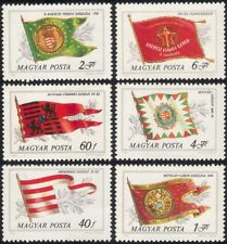 Hungary 1981 Historical Flags/Heraldry/Heritage/Military 6v set (n45606)