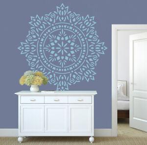 Mandala Stencil Doily Large Paint Wall Furniture Floor Yoga Reusable Crafts DL29
