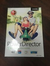 CyberLink PowerDirector CD and Download NIB Windows 10 Sealed USA Video Editing