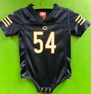 B577/100 NFL Chicago Bears Brian Urlacher #54 Baby-Grow 18 months