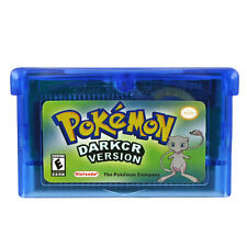 Pokemon GBA Dark Cry Version Game Card Game Boy GB GBC GBA Game Console Gifts
