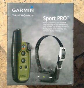 🌟🎈 Garmin Tri-Tronics Sport PRO Dog Training System Bundle 010-01205-00 🌟