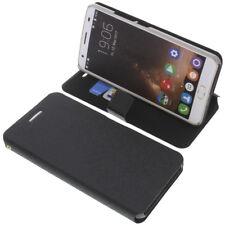 Custodia per Oukitel K6000 PLUS book-style protettiva cellulare a libro nero