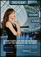 Jennifer Garner 1-page clipping 2011 print ad for Capital One