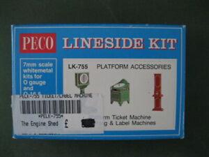 PECO PLATFORM ACCESSORIES KIT LK-755 - NEW O GAUGE.