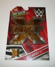 WWE NXT Championship Kids Child Size Oversize Belt Buckle Plastic WWF Champion