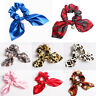Women Girl Elastic Hair Band Rope Ribbon Hair Tie Bow Scrunchie Ponytail Holder