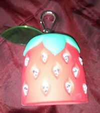 New Rare Bath & Body Works Pocketbac Hand Sanitiser Diamante Strawberry Holder